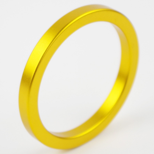 Metal Aluminum Cock Ring 50mm Gold