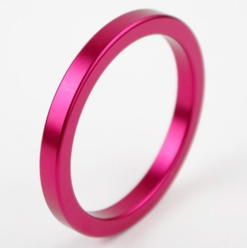 Metal Aluminum Cock Ring 50mm Red