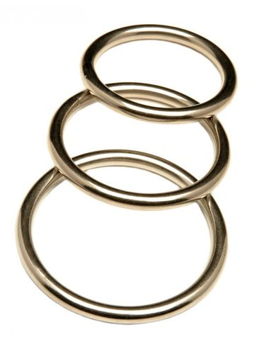 REVENGE 3 Pack Stainless Steel Cock Rings