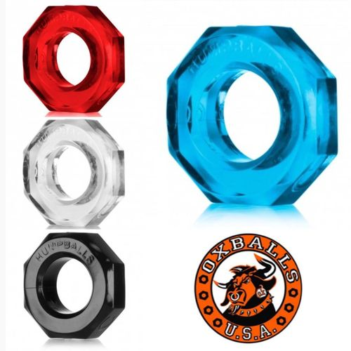 Oxballs HUMPBALLS Cock Ring Ball Ring Clear