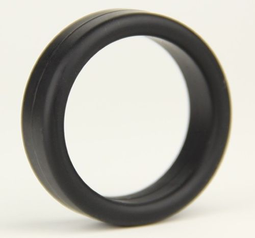 Standard Black Silicone Cock Ring 35mm