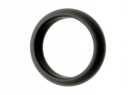 Premium Silicone TORUS Cock Ring Black 42mm