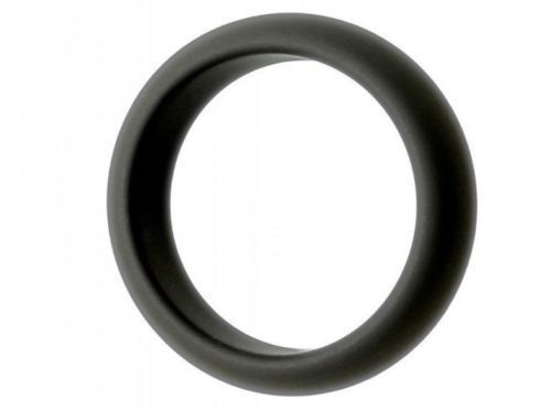 Premium Silicone TORUS Cock Ring Black 50mm