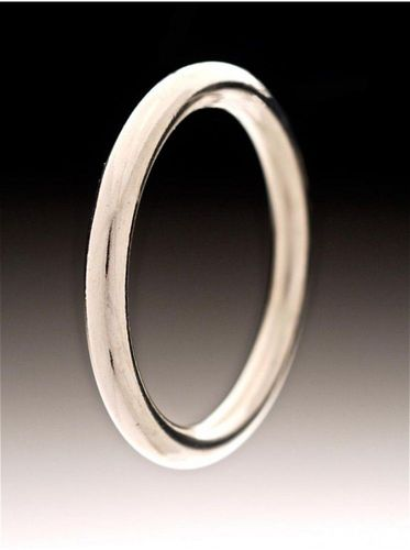 XL OLYMPIC 6mm Thick Steel Cock Ring 55mm