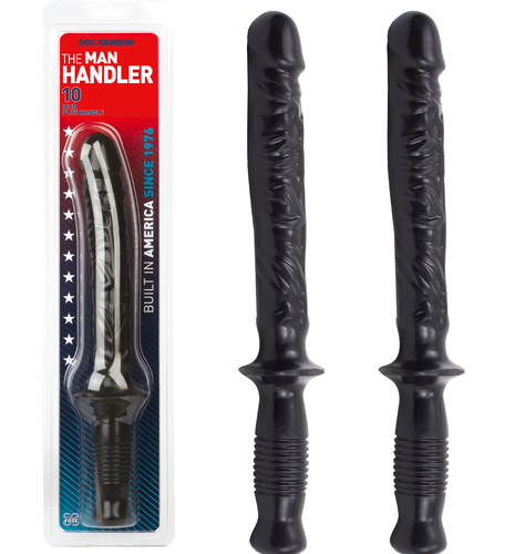 "Doc Johnson MANHANDLER 14.5"" Anal Probe Black"