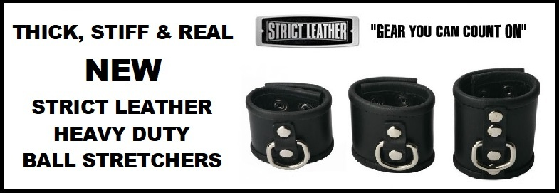 STRICT LEATHER HEAVY DUTY BALL STRETCHER