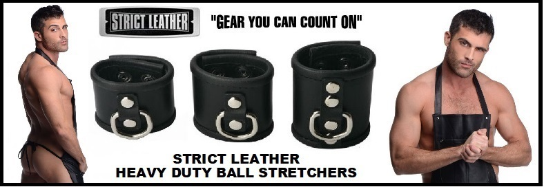 STRICT LEATHER BALL STRETCHER